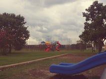 Bild des leeren Parks Stockbild