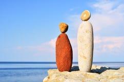Bild des Mannes und der Frau Lizenzfreie Stockbilder