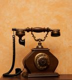 Bild des Retro- Telefons Stockbilder