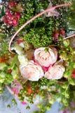 Bild des schönen bunten Blumenstraußes der frischen Blumen Lizenzfreie Stockbilder