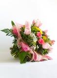 Bild des schönen bunten Blumenstraußes der frischen Blumen Lizenzfreies Stockbild