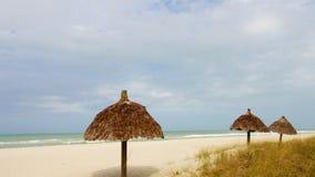 Bild des Strandes am Erholungsortplatz Lizenzfreies Stockfoto