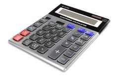 Bild des Taschenrechners 3d Stockfotos