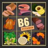 Bild des Vitamin-B6 Lizenzfreies Stockfoto