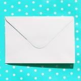 Bild des weißen Umschlags Lizenzfreies Stockbild