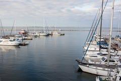 Bild des Yachtclubs Lizenzfreies Stockbild