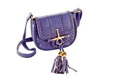 Bild einer weiblichen Handtasche eligantnoy Stockbilder