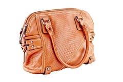 Bild einer weiblichen Handtasche eligantnoy Lizenzfreie Stockfotografie