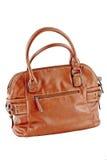 Bild einer weiblichen Handtasche eligantnoy Lizenzfreie Stockbilder
