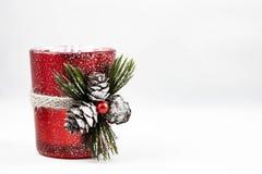 Bild einer Weihnachtsverzierung stockfotografie