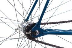 Bild eines modernen hellen Fahrrades lizenzfreie stockfotos