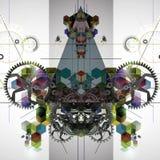 Bild för abstrakt konst Royaltyfria Bilder