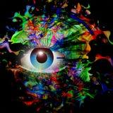 Bild för abstrakt konst Fotografering för Bildbyråer