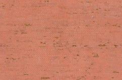 Bild för bakgrund för röd tegelsten för Moskvacremlinvägg sömlös Arkivfoto