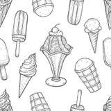 bild för is för bakgrundsclosekräm upp vektor illustrationer