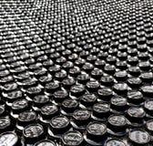 Bild för fixande för bultkuggestål med djup arkivfoto