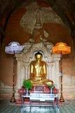 Bild för Htilominlo tempelBuddha, Bagan, Myanmar Arkivfoto