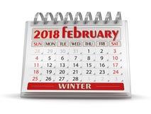 Bild för kalenderår 2018 Arkivbild