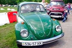 Bild för materiel för Volkswagen tappning bil- Arkivbild