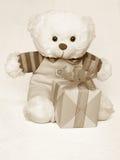 Bild för moderdag av en Teddy Bear - materielfoto Royaltyfri Bild