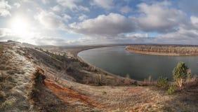 Bild för November lynnefoto, panorama royaltyfria bilder