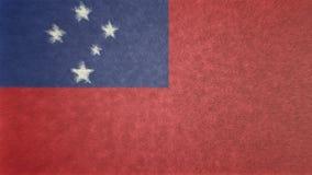 Bild för original 3D av Samoa royaltyfri illustrationer