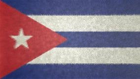 Bild för original 3D, flagga av Kuban royaltyfri illustrationer