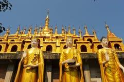 Bild för tre buddha Arkivbild