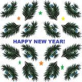 Bild für den Feiertag 'Guten Rutsch ins Neue Jahr! ' lizenzfreies stockbild