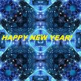 Bild für den Feiertag 'Guten Rutsch ins Neue Jahr! ' stockfoto