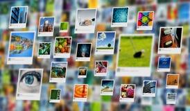 Bild, foto eller bild som delar begrepp på internet arkivfoton