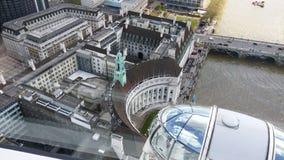Bild från det London ögat arkivbilder