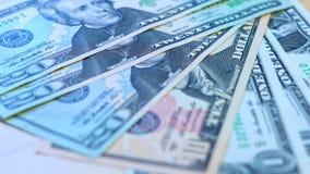 Bild grund dof för closeup för USA dollarmakro Royaltyfri Foto