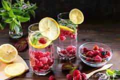 Bild med en drink fotografering för bildbyråer