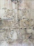 Bild med en gammal försämras vägg Arkivfoto