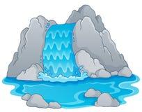 Bild med vattenfalltema 1 Royaltyfria Foton