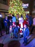 Bild mit Santa Claus Lizenzfreie Stockfotos