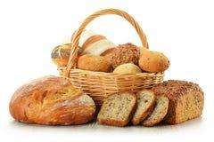 Bild omkring av algriabröd och mat Royaltyfri Foto