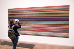 Bild på moderna Tate, London Royaltyfri Foto