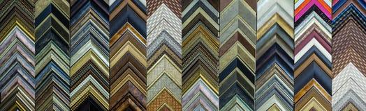 Bild-Ruhm-Formteil-Proben Stockbilder