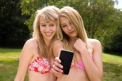 Bild som göras av en telefon Royaltyfri Bild