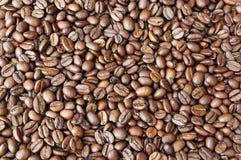 Bild voll von Kaffeebohnen Lizenzfreies Stockfoto