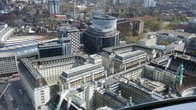 Bild vom London-Auge Lizenzfreies Stockbild