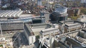 Bild vom London-Auge Lizenzfreie Stockfotos