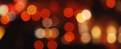 Bild von bokeh Illustration mit dem Glühen ringsum helle Stellen von Lizenzfreies Stockfoto
