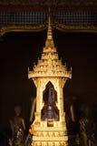 Bild von Buddha in einem Tempel Stockfotos