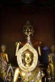 Bild von Buddha in einem Tempel Stockbild