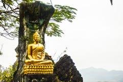 Bild von Buddha im louangprabang Lizenzfreie Stockfotografie