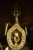 Bild von Buddha im Tempel Lizenzfreie Stockfotografie