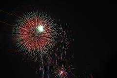 Bild von Feuerwerken Lizenzfreies Stockfoto